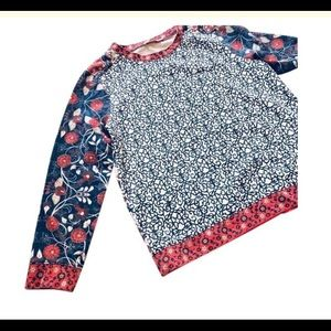 Tory Burch floral sweatshirt - guc